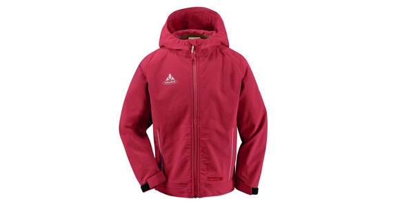 Vaude Kids Adder Softshell red